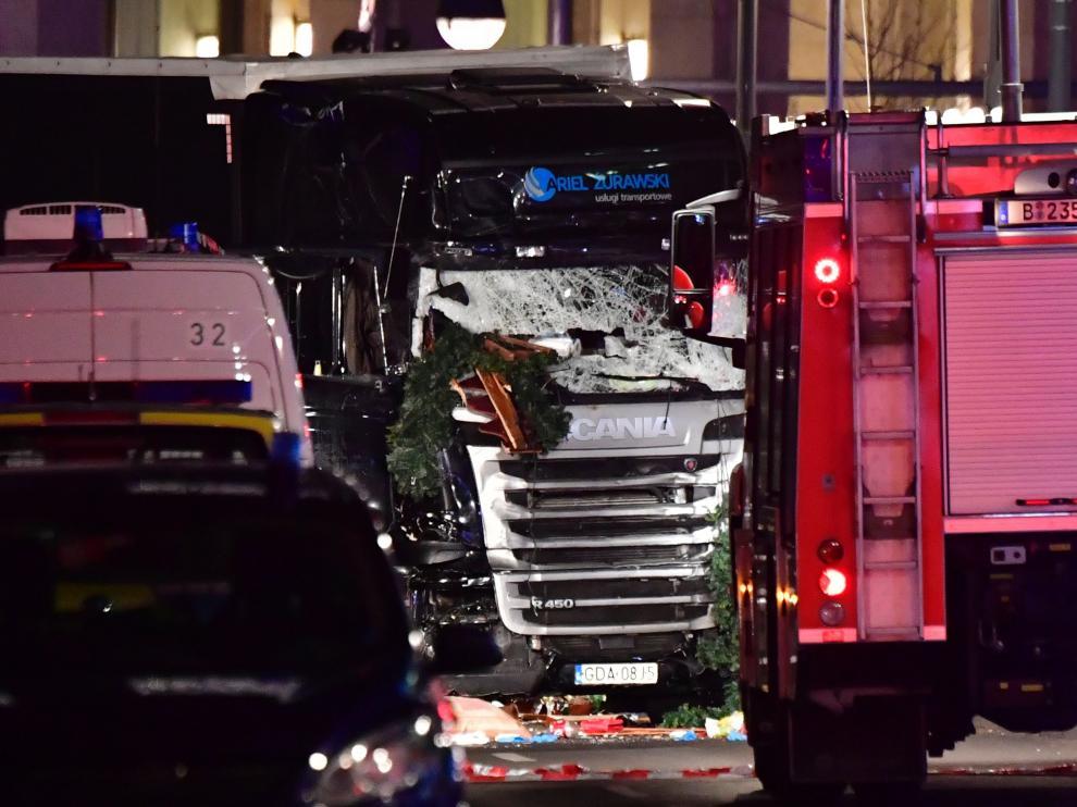 Un camión arrolla a varias personas en Berlín.