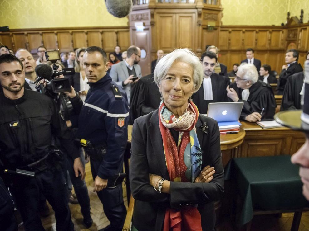 La directora gerente del FMI, Christine Lagarde, culpable de negligencia en el 'caso Tapie'