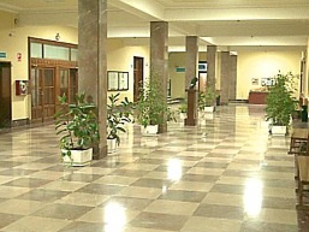 Interior del IES Miguel Catalán