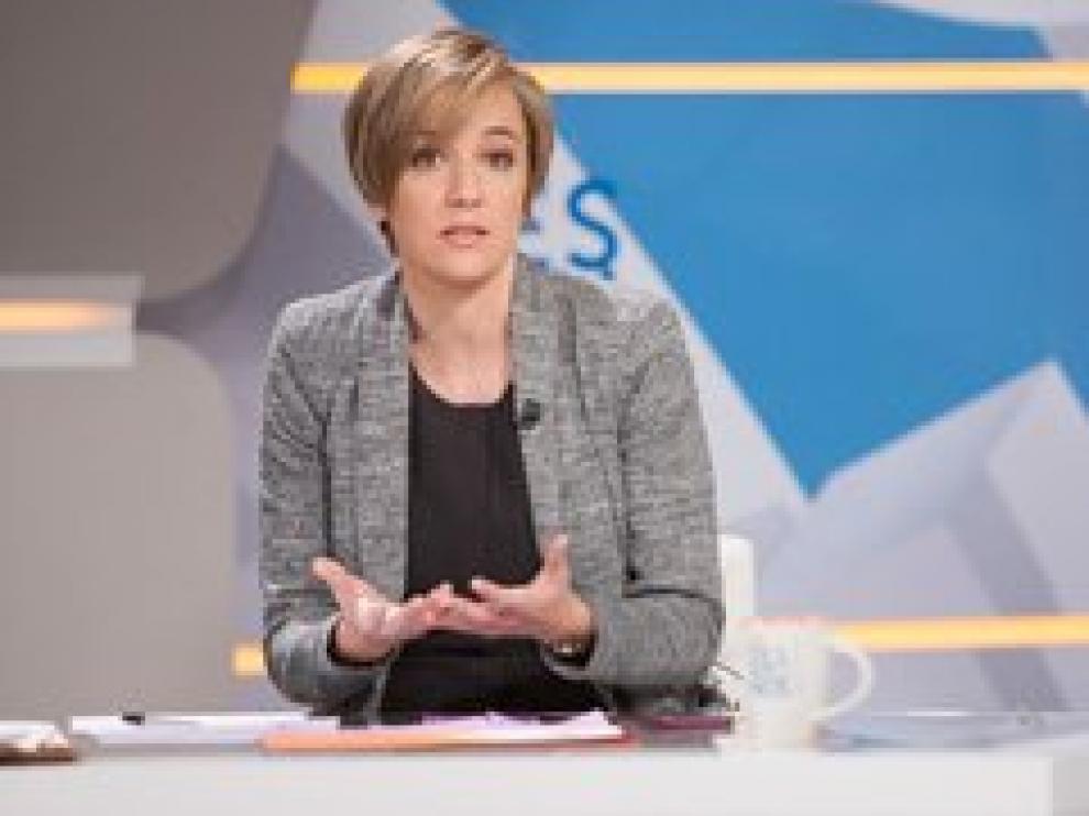Tania Sánchez, este martes en una entrevista en 'Los desayunos de TVE'.