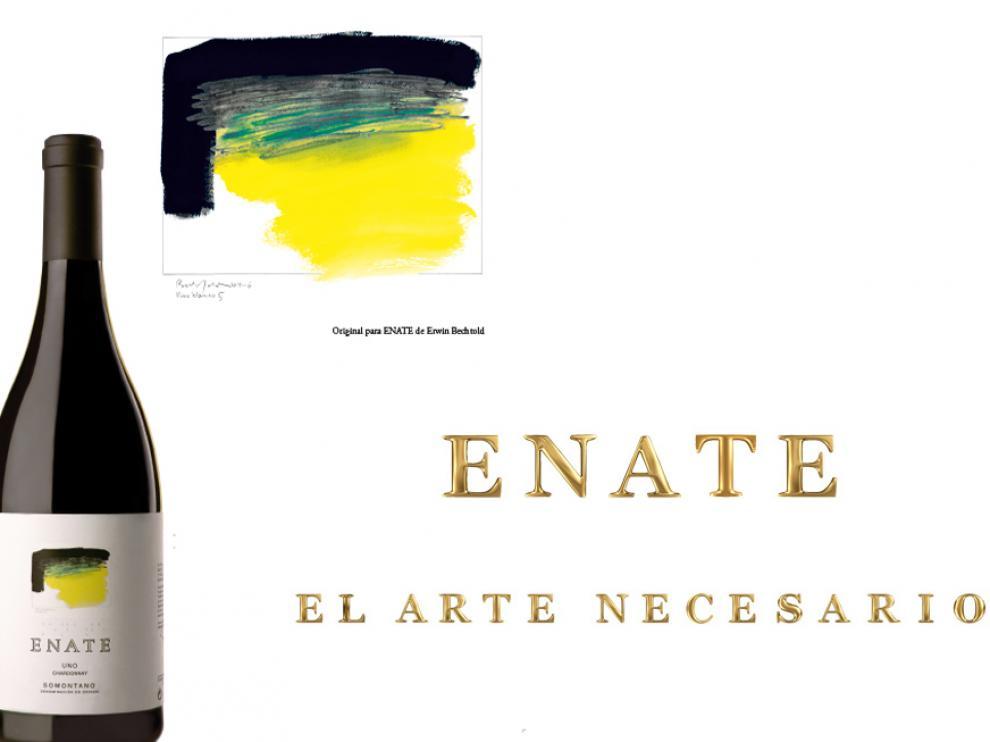 Botella de Vino Enate Uno.