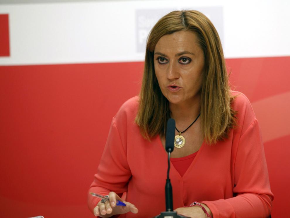 La viceportavoz socialista en las Cortes regional, Virginia Barcones