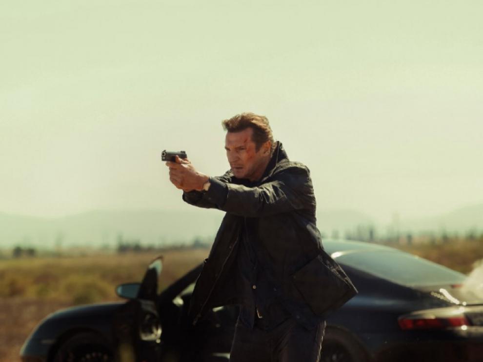 Liam Neeson en la película 'V3nganza'.