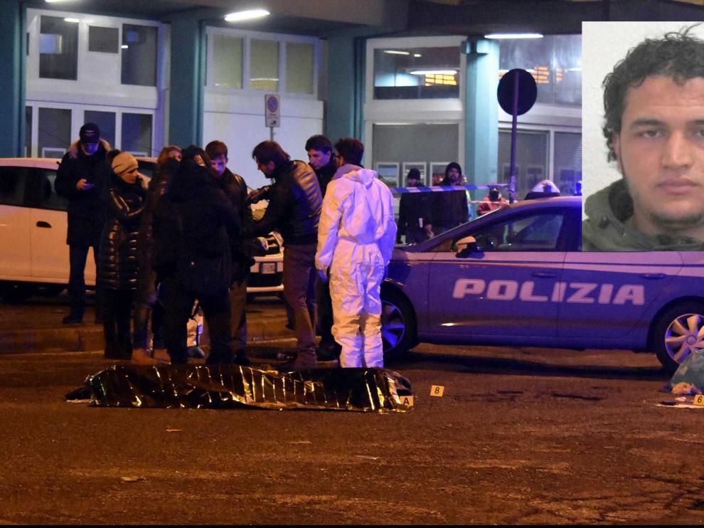 La Policía italiana mata en Milán al sospechoso por el atentado de Berlín