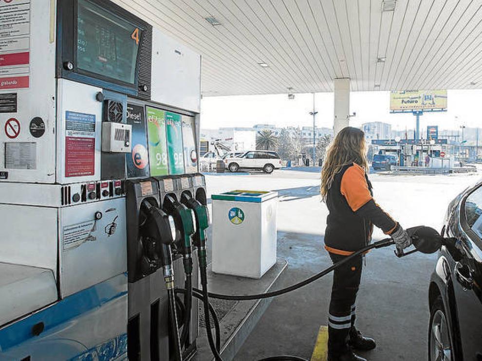 La gasolina, en máximos desde el verano de 2015