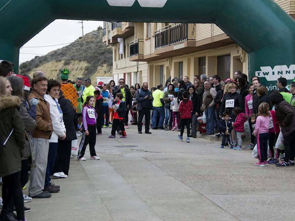 En Castiliscar, ya se celebró una carrera de estas características en 2015.