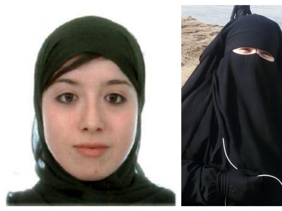 Asia Ahmed Mohamed y Fátima Akil Laghmich.