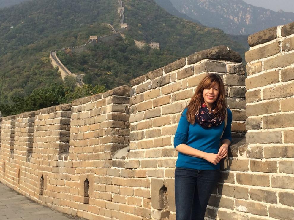 "Mavi Doñate: ""Ejercer el periodismo en China supone un reto diario"""