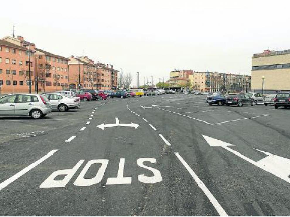 El antiguo solar del Espartidero es ahora un aparcamiento de 6.302 metros cuadrados.