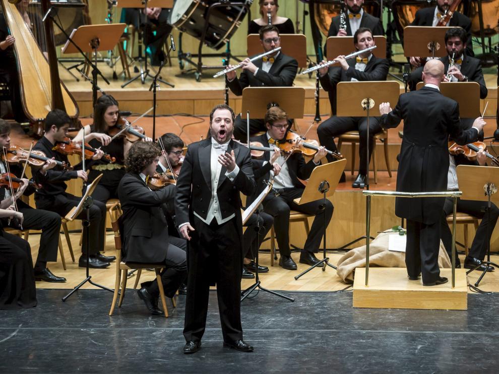 Imagen del concierto de Año Nuevo de la Orquesta Sinfónica Goya