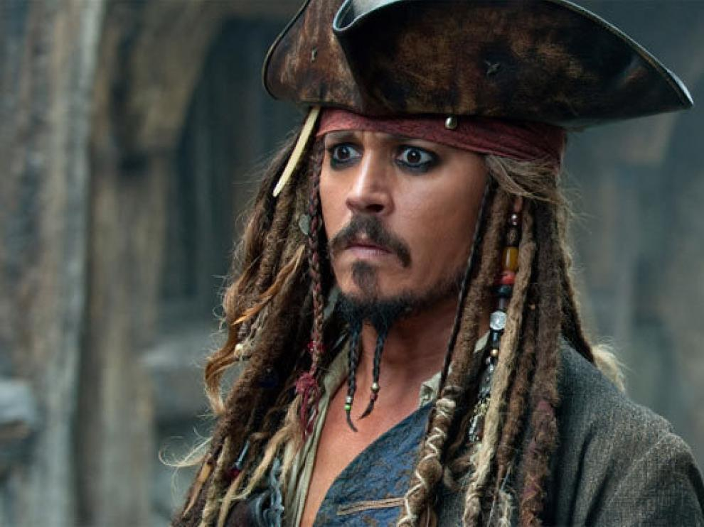 Johnny Depp, aquí caracterizado como Jack Sparrow, tiene una curiosa fobia.