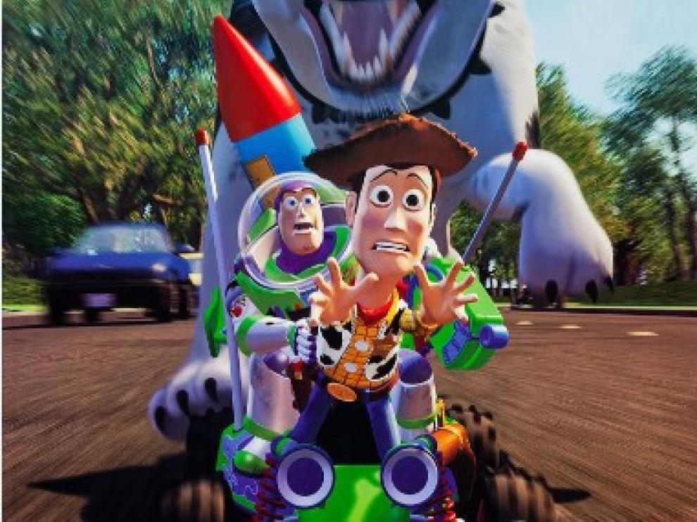 'Toy Story', la primera película animada enteramente por ordenador se estrenó en 1995