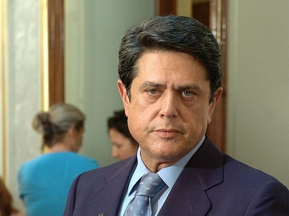 Federico Trillo en el Congreso.
