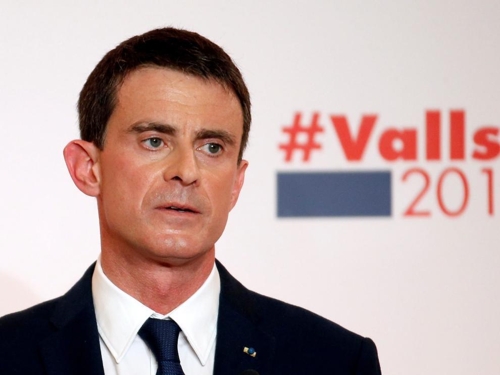 El ex primer ministro Manuel Valls.