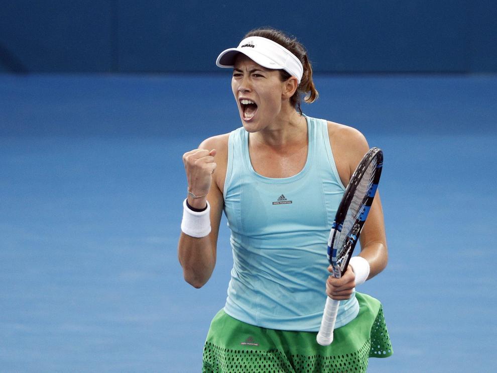 Imagen de archivo de la tenista española Garbiñe Muguruza.