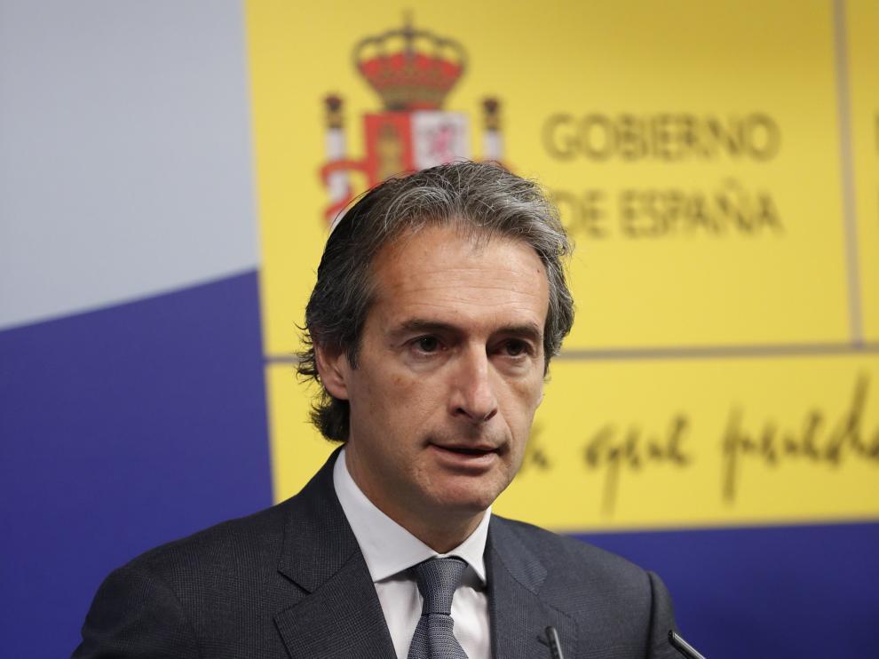 El ministro de Fomento,Iñigo de la Serna, en una imagen de archivo.