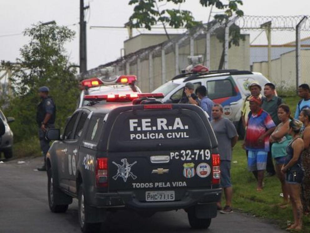 La cárcel brasileña de Compaj.