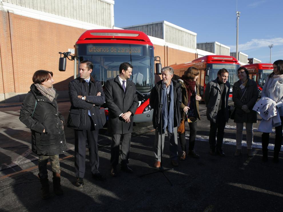 Autobuses híbridos de Zaragoza
