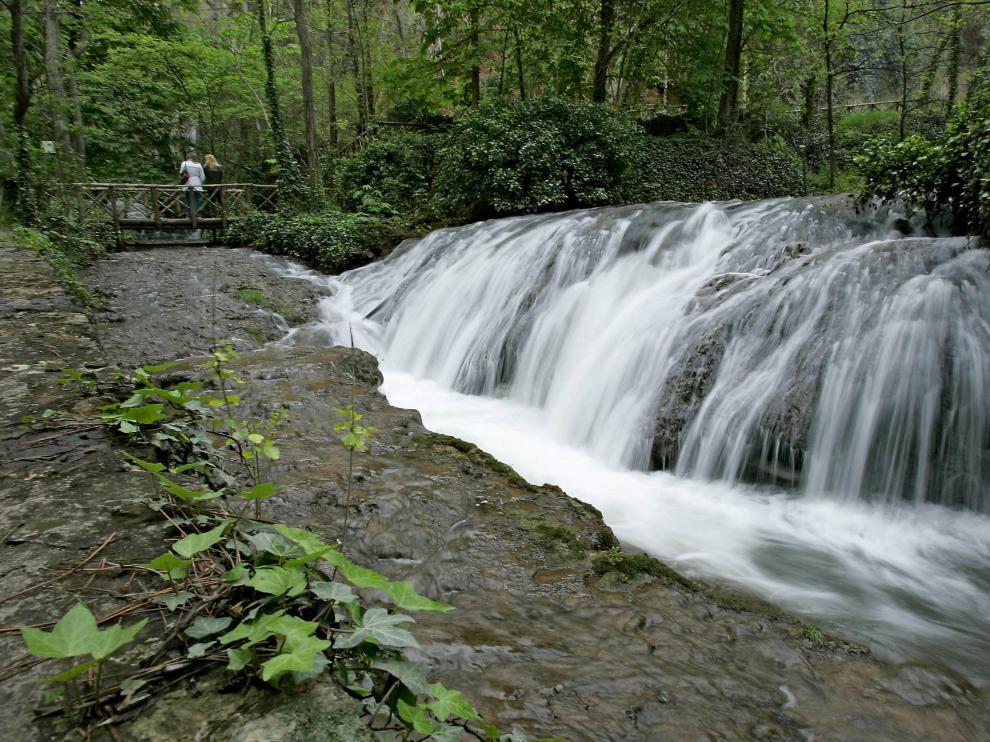 El agua es la gran protagonista en el Monasterio de Piedra