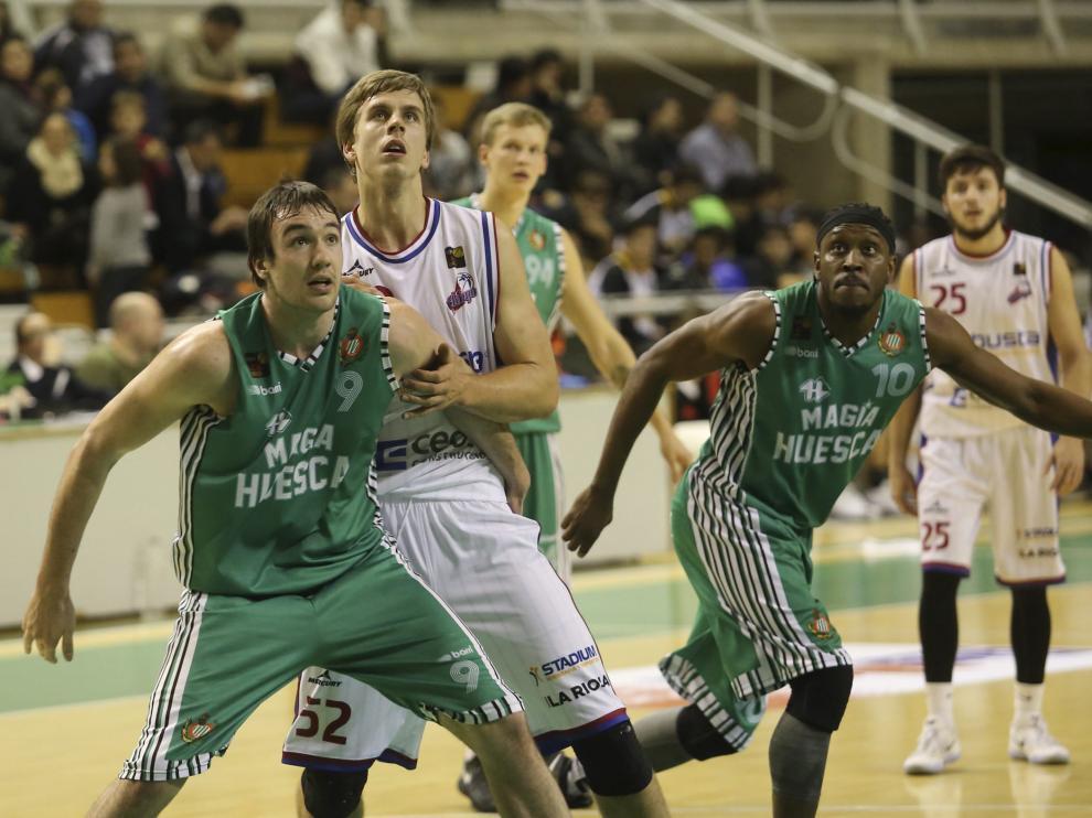 Imagen de un partido del Magia Huesca