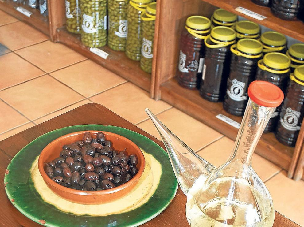 Variedades de oliva elaboradas en la cooperativa del Matarraña.