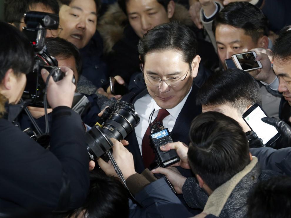 El heredero y presidente de facto del grupo Samsung, Lee Jae-yong.