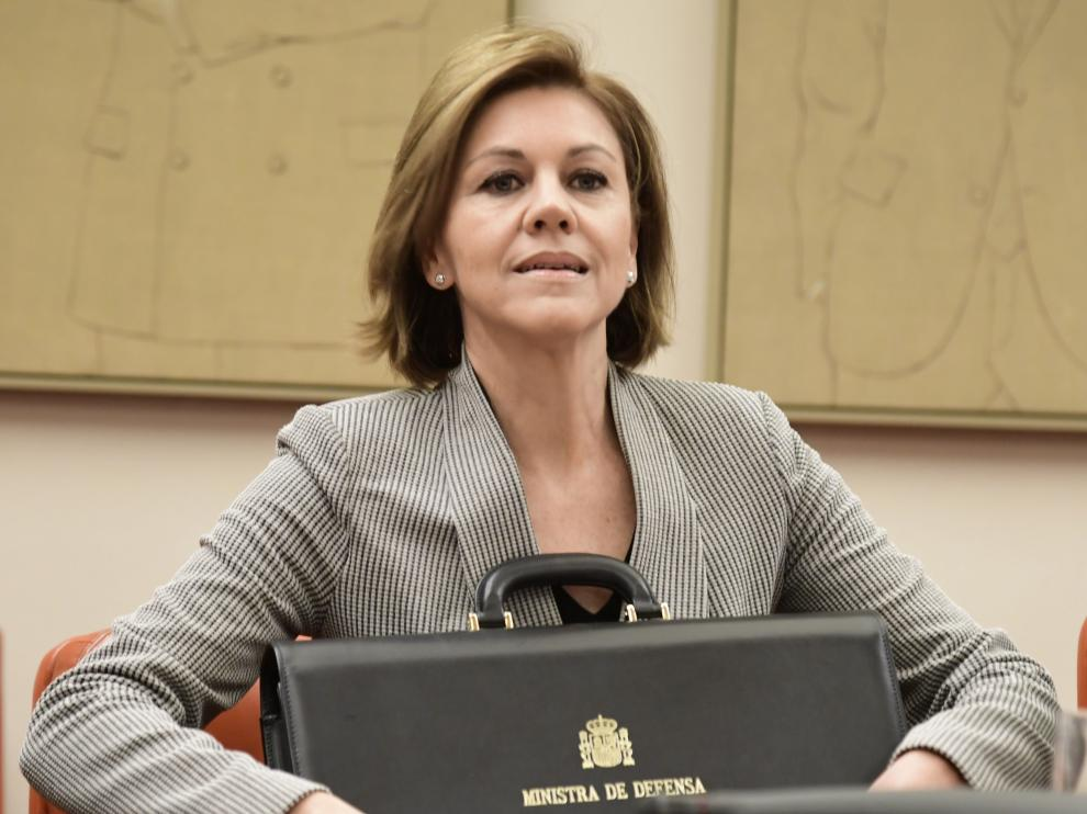 La ministra de Defensa, María Dolores de Cospedal, en una foto de archivo.