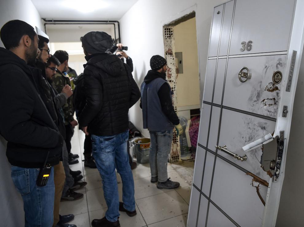 La Policía turca investiga la vivienda del terrorista Abdulkadir Masharipov.