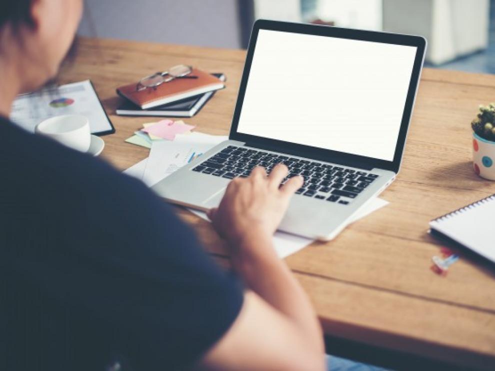 Ordenador, internet, internauta