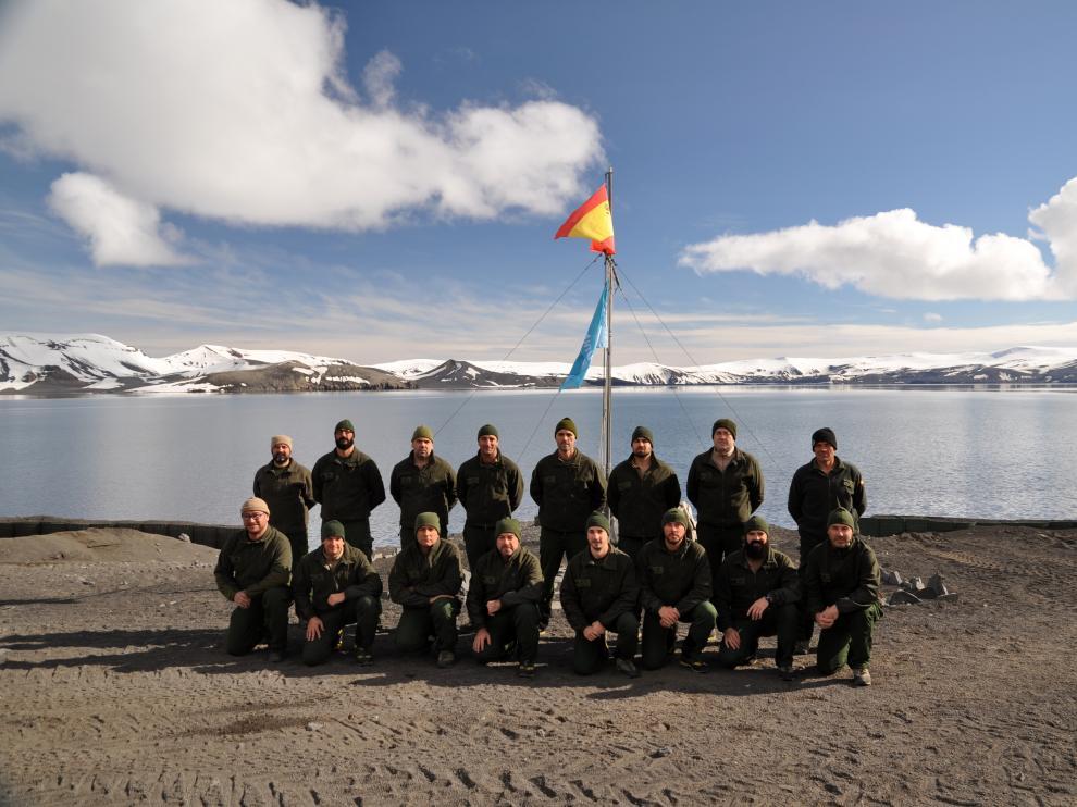 Militares presentes en la Campaña 2016-2017 actual.