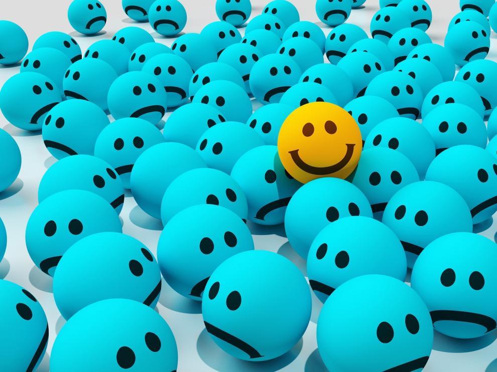 La felicidad depende de uno mismo.
