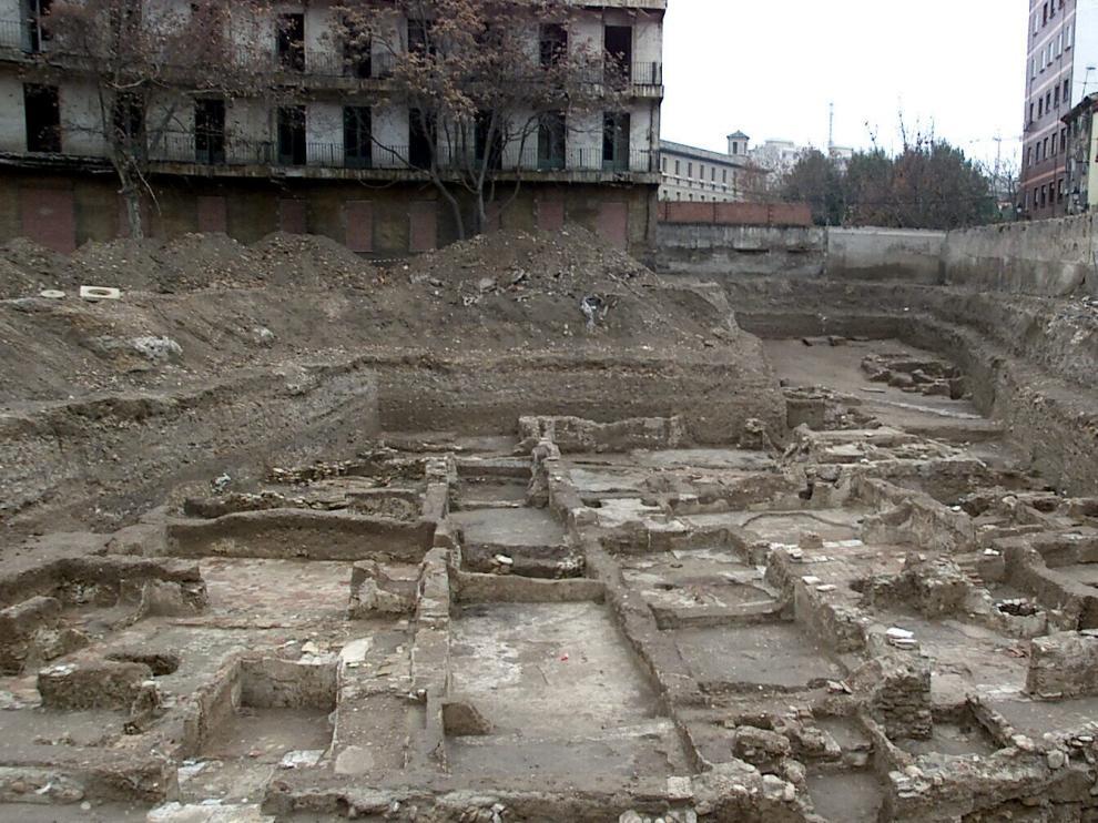 Las ruinas islámicas, en una fotografía realizada en 2002