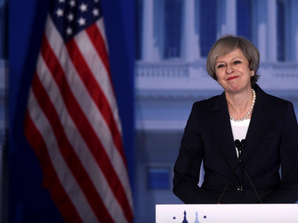 Theresa May en una imagen de archivo.