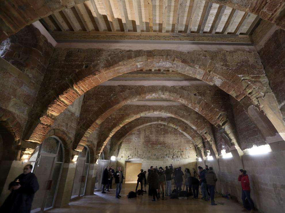 Exposición de las 51 piezas de Sijena devueltas por Cataluña