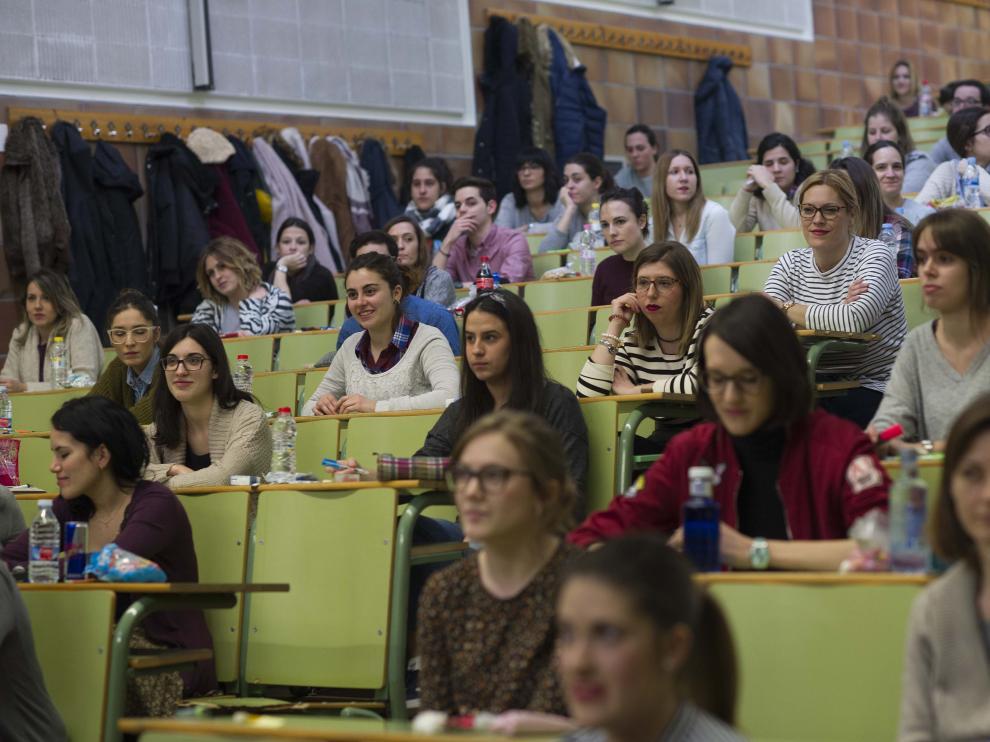 Examen MIR en Aragón