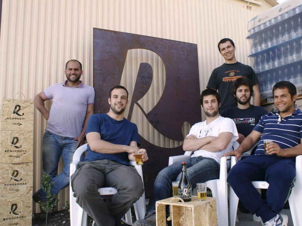 Los fundadores de cervezas Rondadora.