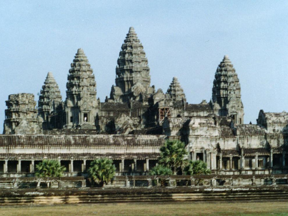 Uno de los templos de Angkor, declarados patrimonio de la Humanidad por la Unesco.