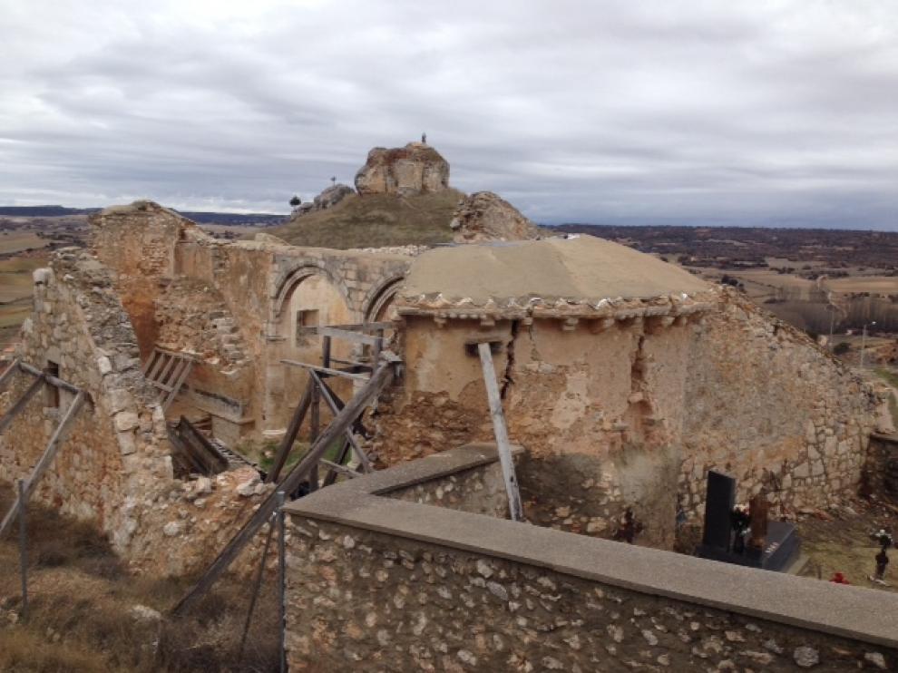 Ermita de San Esteban Protomártir de Alcozar, recientemente retirada de la Lista Roja