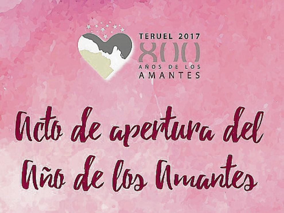 Cartel de la programación de Teruel en el febrero más romántico.