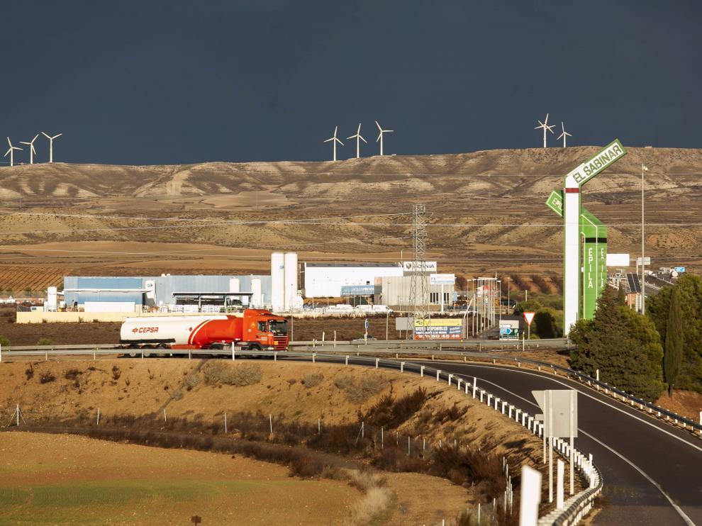 Las 140 hectáreas elegidas para la planta se ubican junto a la A-2, frente al polígono El Sabinar.