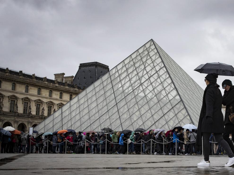 El Museo del Louvre ha perdido un 13,3 % de visitantes.