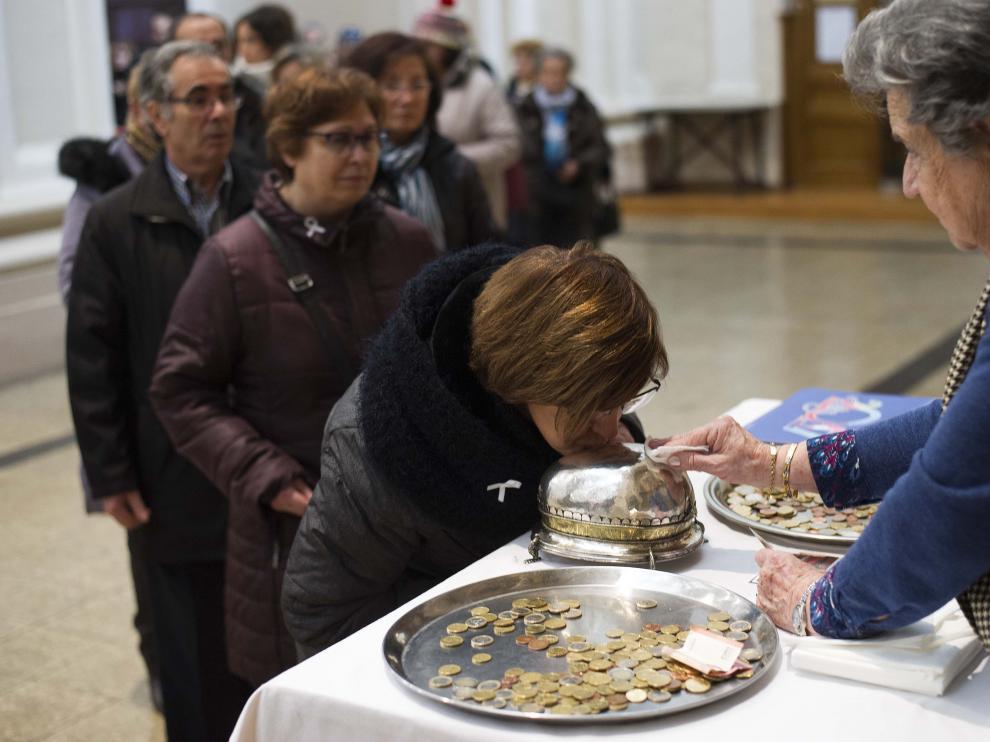 Celebración de Santa Águeda en Zaragoza