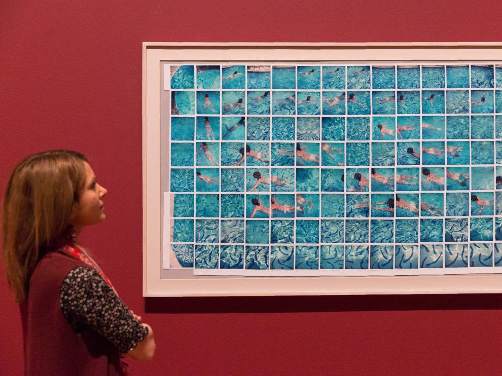 Una obra del pintor expuesta en la Tate Britain.