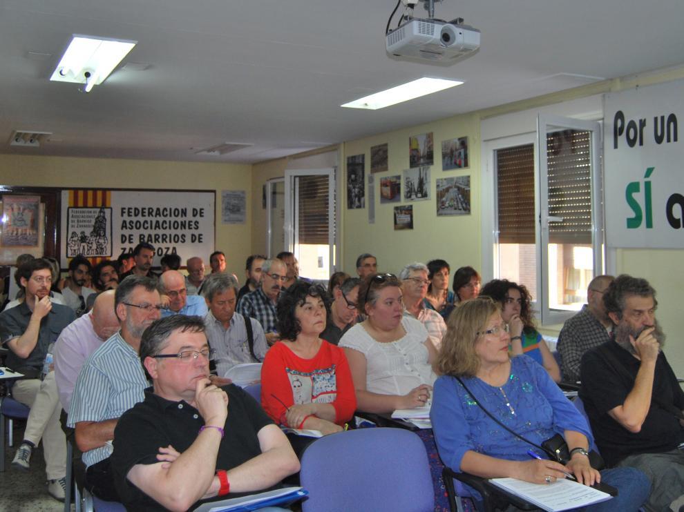 Imagen de archivo de una jornada sobre participación ciudadana celebrada en la FABZ