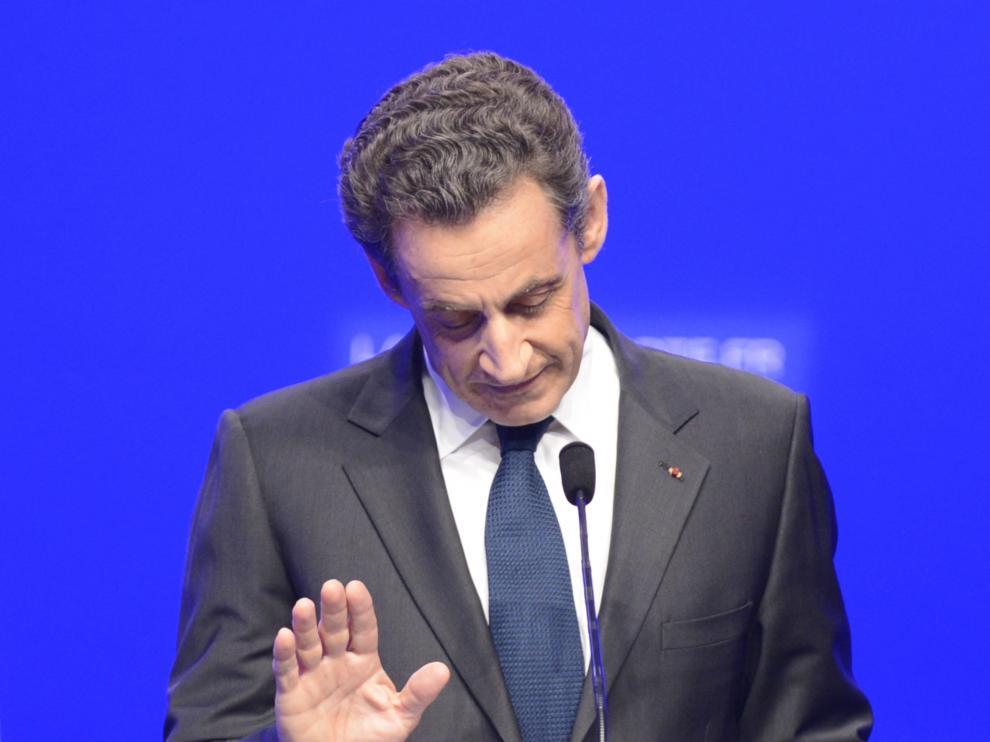 Sarkozy en 2012.