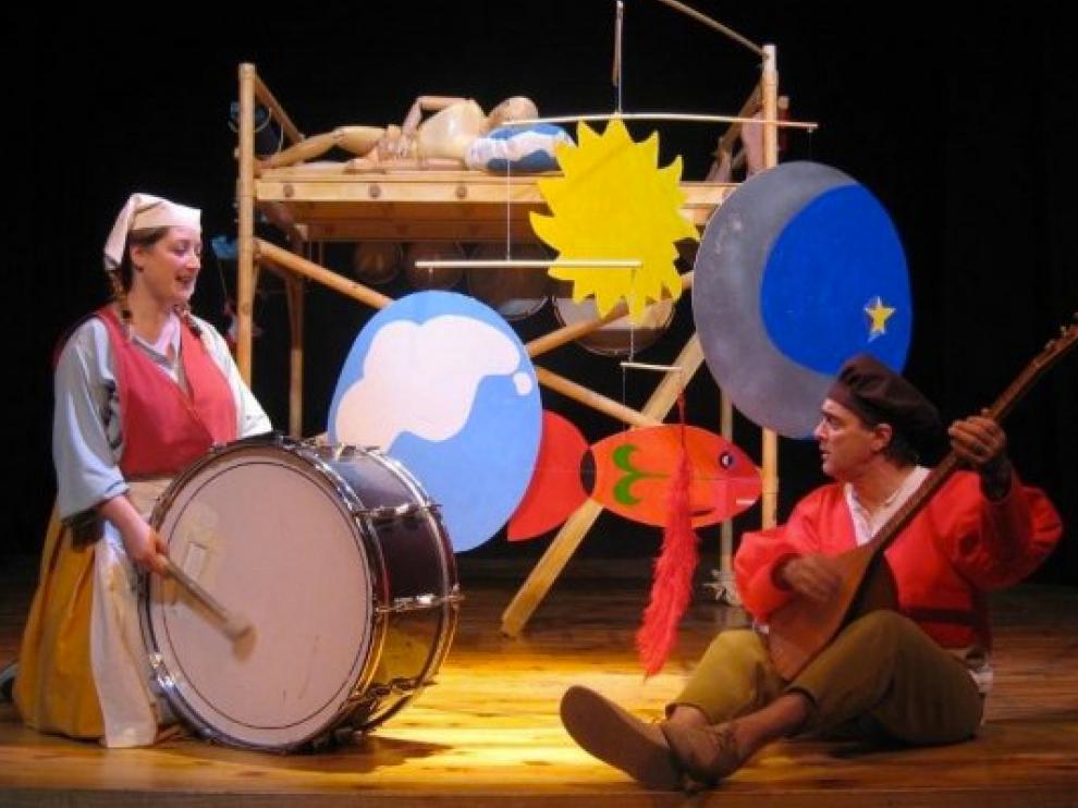 Imagen de 'Sesá' de la compañía Tyl Tyl, este fin de semana en Teatro Arbolé.