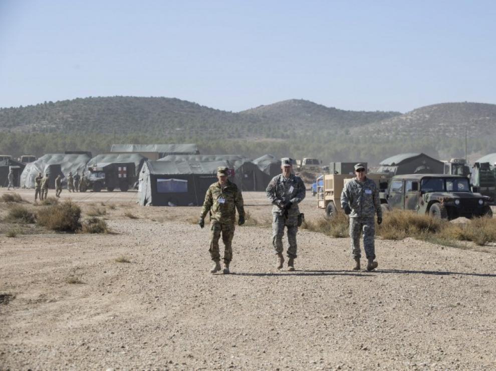 Maniobras de la OTAN en San Gregorio