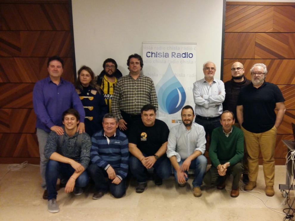 Primera emisión de Chisla Radio