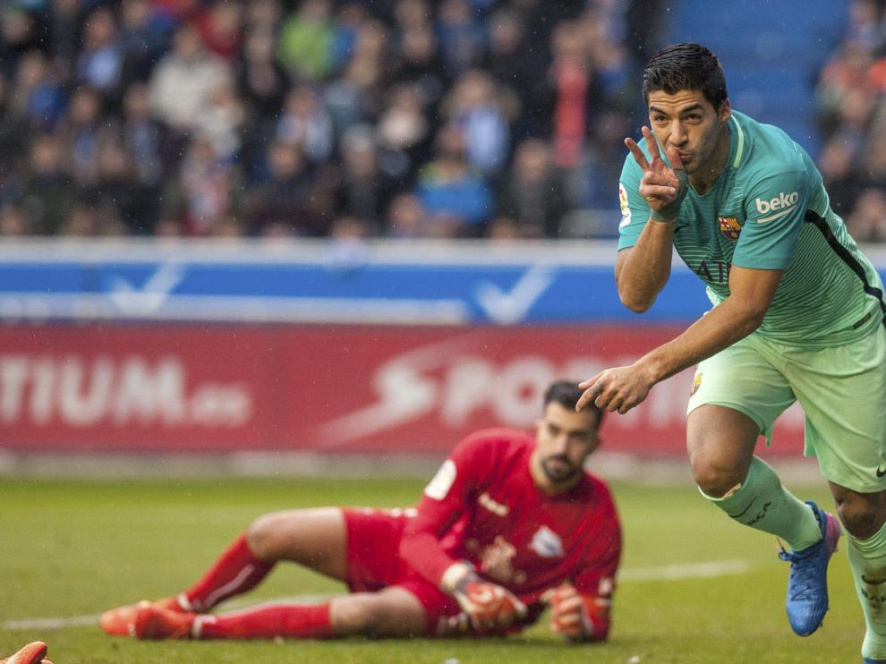 Deportivo Alavés contra el Fútbol Club Barcelona.