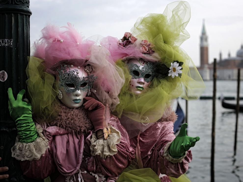 El carnaval de Venecia, en imágenes